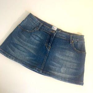 SASS & BIDE 28 Beauty in Imperfection denim skirt
